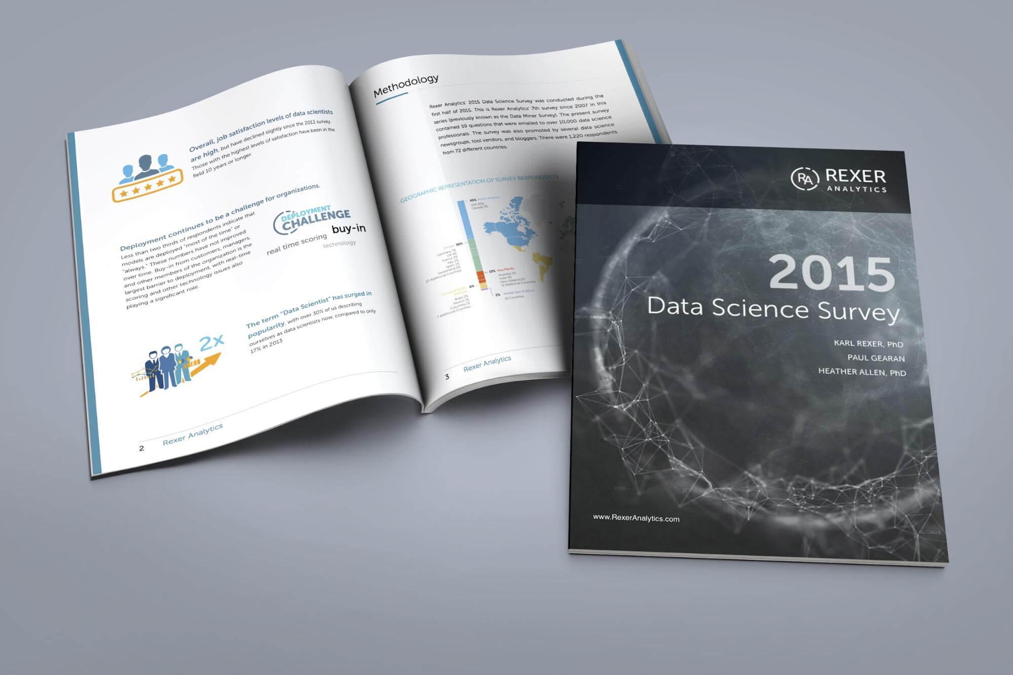 Designing Rexer Analytics Data Science Survey White Paper. logo
